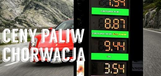 ceny paliw 2016