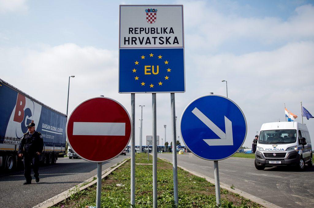 Korki na granicy Chorwacji