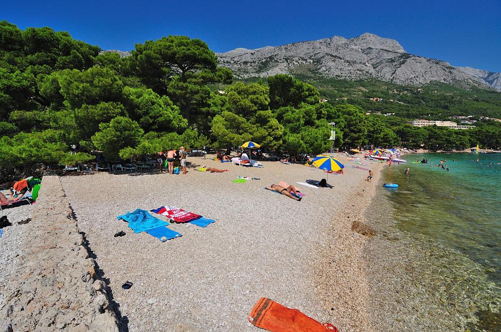 Brela - Chorwacja, plaże