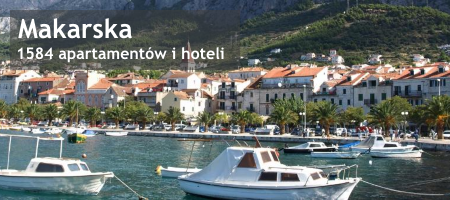 Makarska apartamenty i hotele